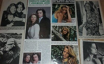 CHARLOTTE RAMPLING 60s / 70s Spanish Clippings / Cuttings