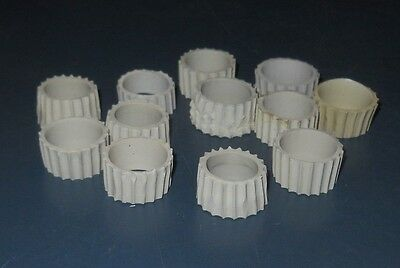 Lot 12 Rubber Candle Holders Gaskets For Votive Peg Glass Style Various Colors