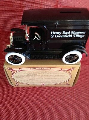 Rare Ertl Ford Model T - Henry Ford Museum Limited Edition - Die Cast Truck Bank