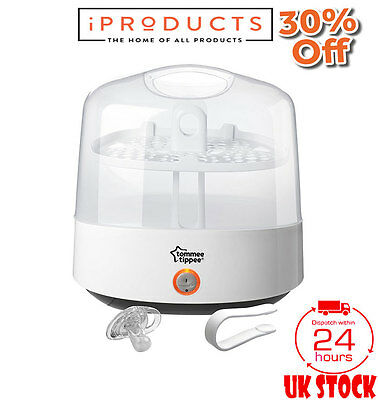 Tommee Tippee Closer To Nature Steriliser Electric White