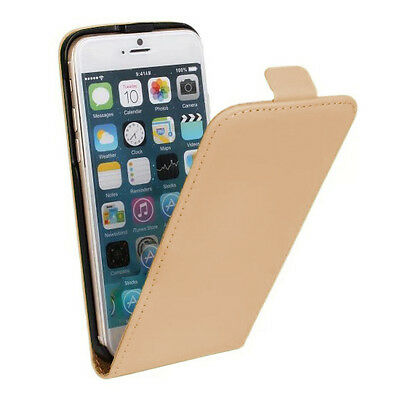 New Stylist Cream PU leather Phone Flip Case Cover For Iphone 6/6S [d36