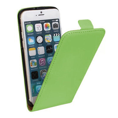New Stylist Green PU leather Phone Flip Case Cover For Iphone 6/6S [d20