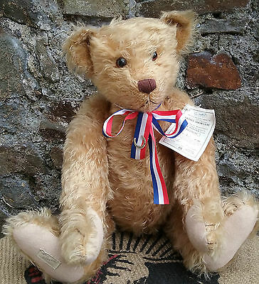 IMPRESSIVE large Dean's Rag Book  Ltd. Ed. 'Branigan' teddy bear with tags 23""