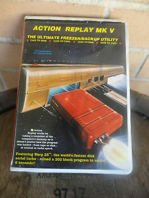 Commodore 64 - Action Replay MK 5 V FREEZE MACHINE CARTRIDGE