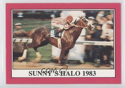 1991 Horse Star Kentucky Derby #109 Sunny's Halo MiscSports Card 0u7