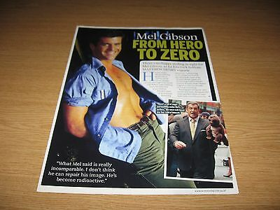 MEL GIBSON - 1 page magazine clipping