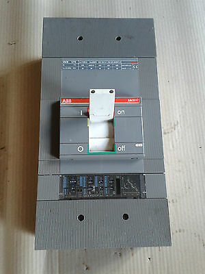 ABB SACE S7S 1250a 3 POLE CIRCUIT BREAKER with PR212/P