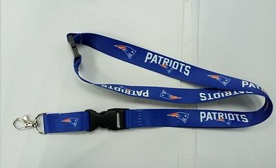 New England Patriots Double - Sided Quality NFL Lanyard - Australian Stock