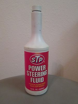 Vintage STP Power Steering Fluid 12 oz. Division of First Brands Corporation New