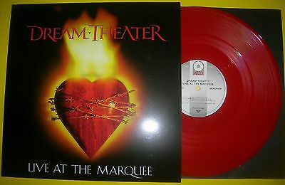 Dream Theater - LIVE AT THE MARQUEE 2016 ltd numbrd red vinyl LP album UNPLAYED