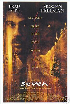 Seven - ROLLED Original D/S US One Sheet Poster 27 x 40 inches - Se7en