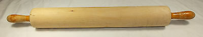 Vintage, very clean, commercial size wooden rolling pin