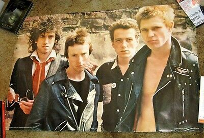 CLASH Poster RARE Vintage Classic Punk Rock London Calling Anabas England