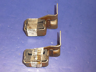 Pair of NOS GM 1970-77 Chevy Camaro 350 396 454 Exhaust Tailpipe Hanger 340361