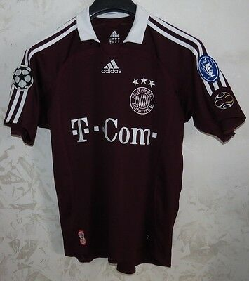 Maglia Shirt Jersey Calcio Football Bayern Munchen Munich Monaco Away D176
