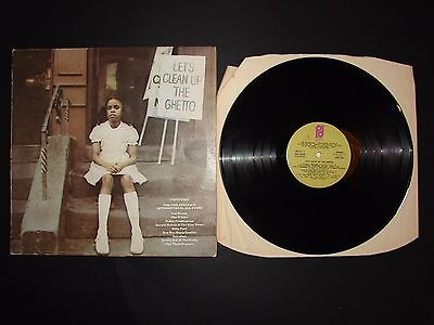 Let's Clean up the Ghetto Compilation LP Vinyl Record PIR82198