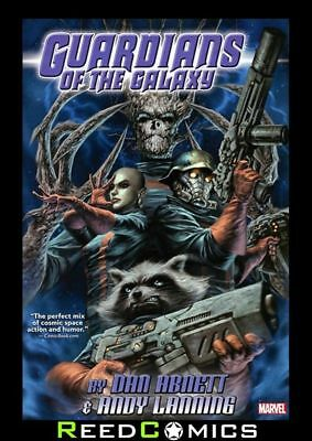 GUARDIANS OF THE GALAXY BY ABNETT AND LANNING OMNIBUS HARDCOVER (936 Pages)