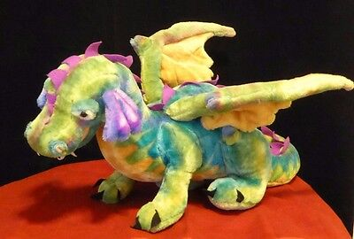Melissa and & Doug Dragon Giant Large Plush Animal Stuffed Colorful