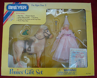 NEW Ponies Gift Set, The Princess and the Frog Prince, #7029, in Original Box