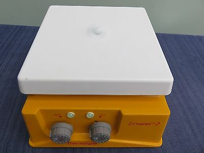 "Thermolyne Cimarec 2 Hot Plate Magnetic Stirrer 7"" x 7"" 120V SP46925 EXCELLENT"