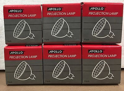 Lot of 6 EVW 82V 250W Projector Lamp Apollo Projection Bulb NOS
