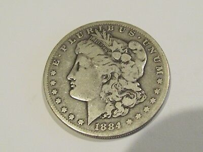 1884-S Morgan Silver Dollar  Rare High Grade Key Date Us Silver Coin!!!!!!!!!!