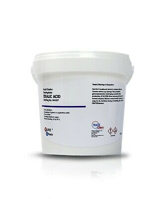 OXALIC ACID 500g Hull Deck GRP Cleaner & Rust Remover PURE CHEM