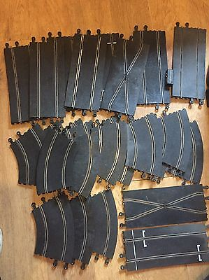 Scalextric Job Lot Of 53 Vintage Track Pieces !