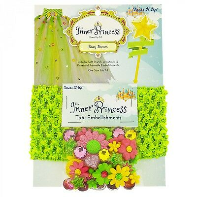 The INNER PRINCESS Fairy Dream Green Tutu Waistband & Embellishments!