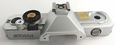 (Prl) Fujica Stx 1N Ricambi Callotta Superiore Camera Body Spare Part Camara Rep