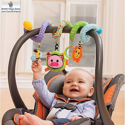 Infantino Spiral Activity Development Toy, Blue for Baby Infant Toddler Kids NEW