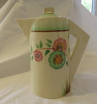 Clarice Cliff Conical Coffee Pot Corolla