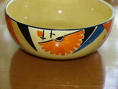 Myott art deco bowl handpainted r9532 decorators mark 8 for Deco 90 fut 18
