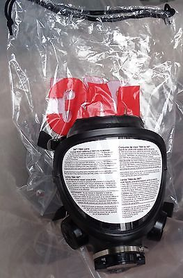 3M FR-7800B-L Full Facepiece Reusable Respirator , Large (NEW)