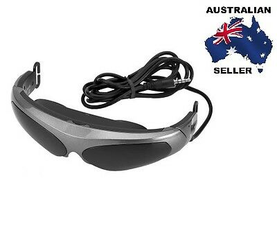Portable Video Glasses - LCD Micro Display, 80 Inch Screen Viewing Experience