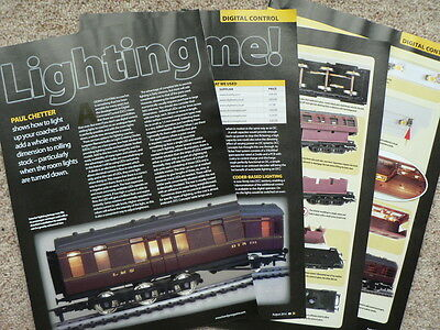 Fitting lighting & sound to Hornby 12 wheel dining car - Hornby magazine article