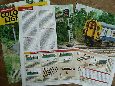 Adding automation to colour light signalling - Hornby Magazine article