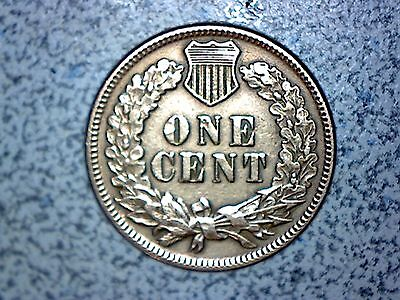 1887 Indian Head penny RD