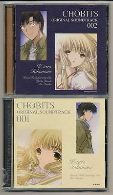 Chobits Anime Ost Cd #001 & #002 Soundtrack 01 02