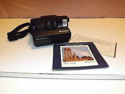 Vintage Polaroid Spectra System Se Instant Film Camera Very Clean Not Tested