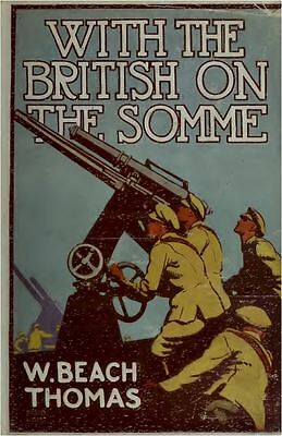 The Battle Of The Somme World War 1 Old Book Scans Images The Fifth Army DVD-ROM