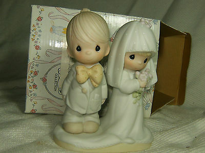 Mint 1979 Precious Moments The Lord Bless You & Keep You E-3114 With Box