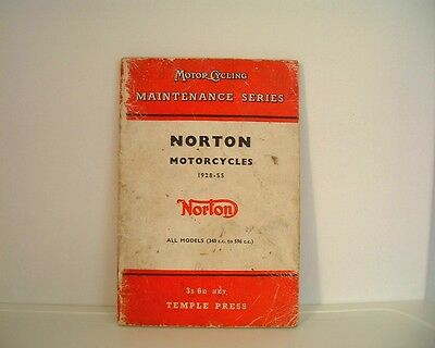 Norton Motorcycles Manual - 1928 - 55 - Temple Press - Nice Clean Illustrations