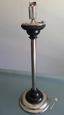 ART DECO SMOKERS STAND (c1930s) ONE OF THE ORIGINALS. AND NOT BAD CONDITION.