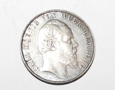 1870/1 German States Prussia Thaler Victory Over France Silver Coin BU First Iss