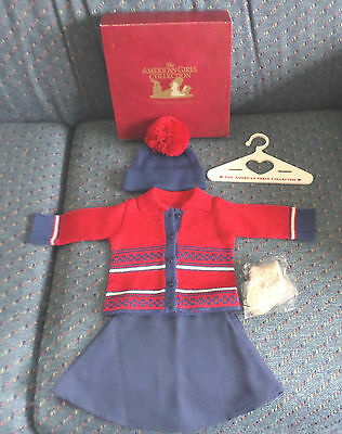 RARE American Girl Kit's Tree House Outfit Complete Treehouse NIB Burgundy Box