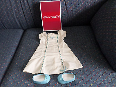 Nib American Girl Caroline's Nightgown & Slippers Now Retired