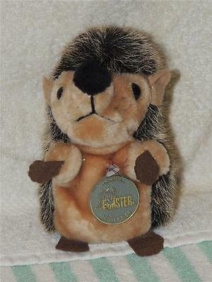"Plush Stuffed Forster Stoffier Hedgehog Made in Germany 6"" Original Medallion"