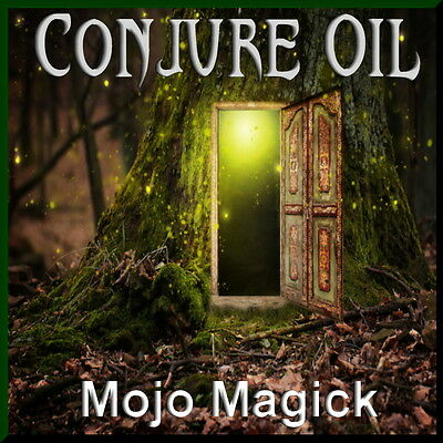 Mojo Magick Conjure Essential Oil Hoodoo Wicca Magnify & Enhance Energy Power