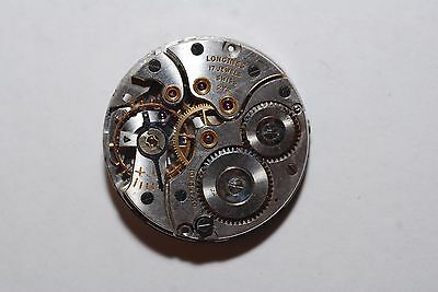 VINTAGE MENS LONGINES WRISTWATCH MOVEMENT CALIBER 27M For Parts or repairs